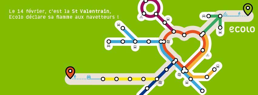 C'est la Saint Valentrain!